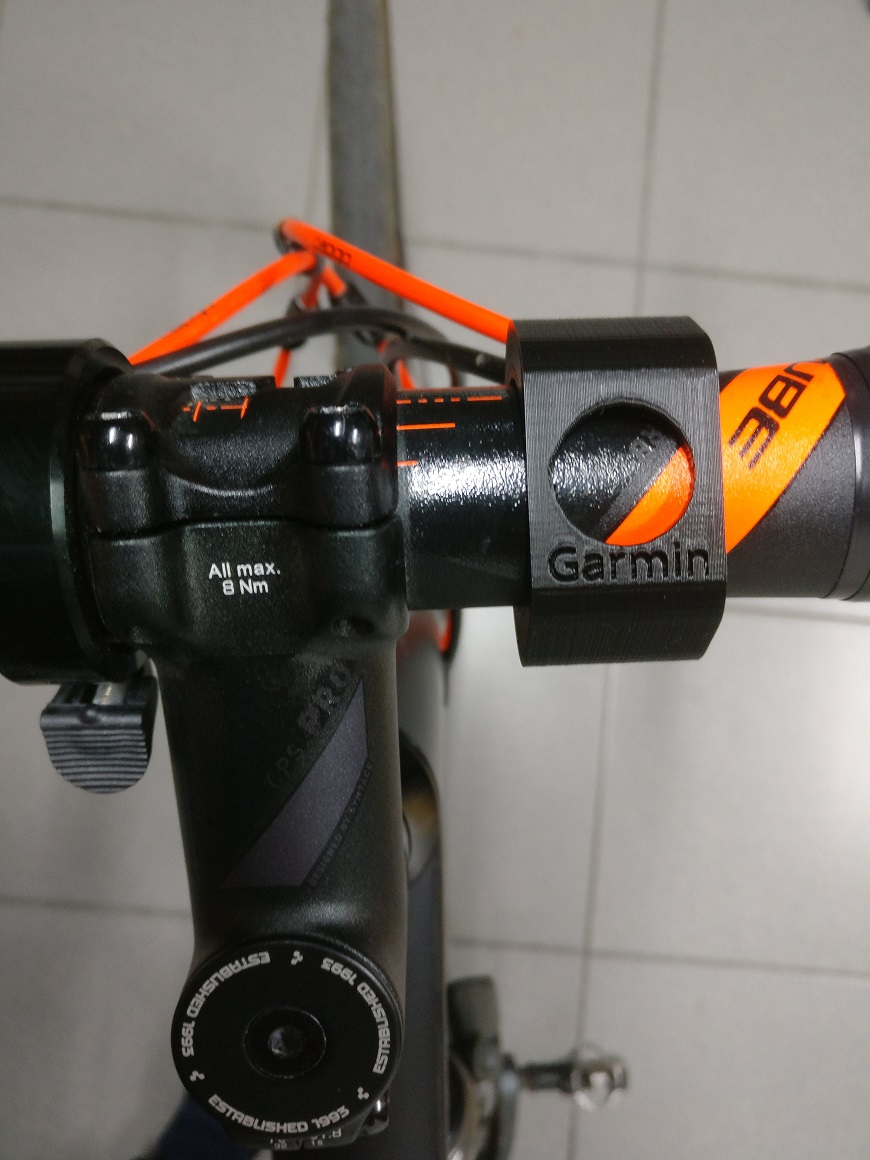 Garmin forerunner 235 bike mount by tokke77 - Thingiverse