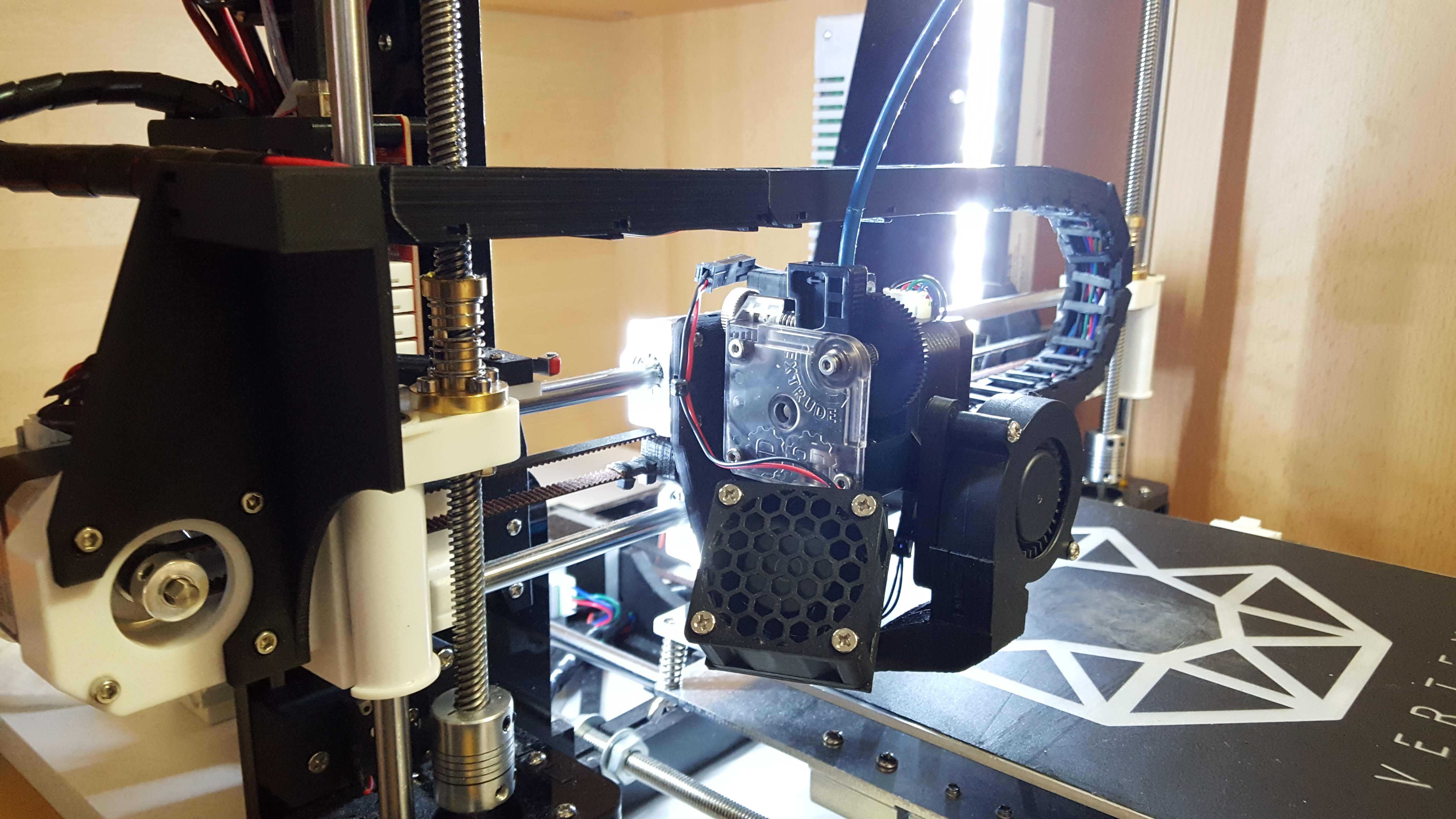 Anet A8 Ultimate Direct E3D v6 & Titan Extruder Carriage With Chain