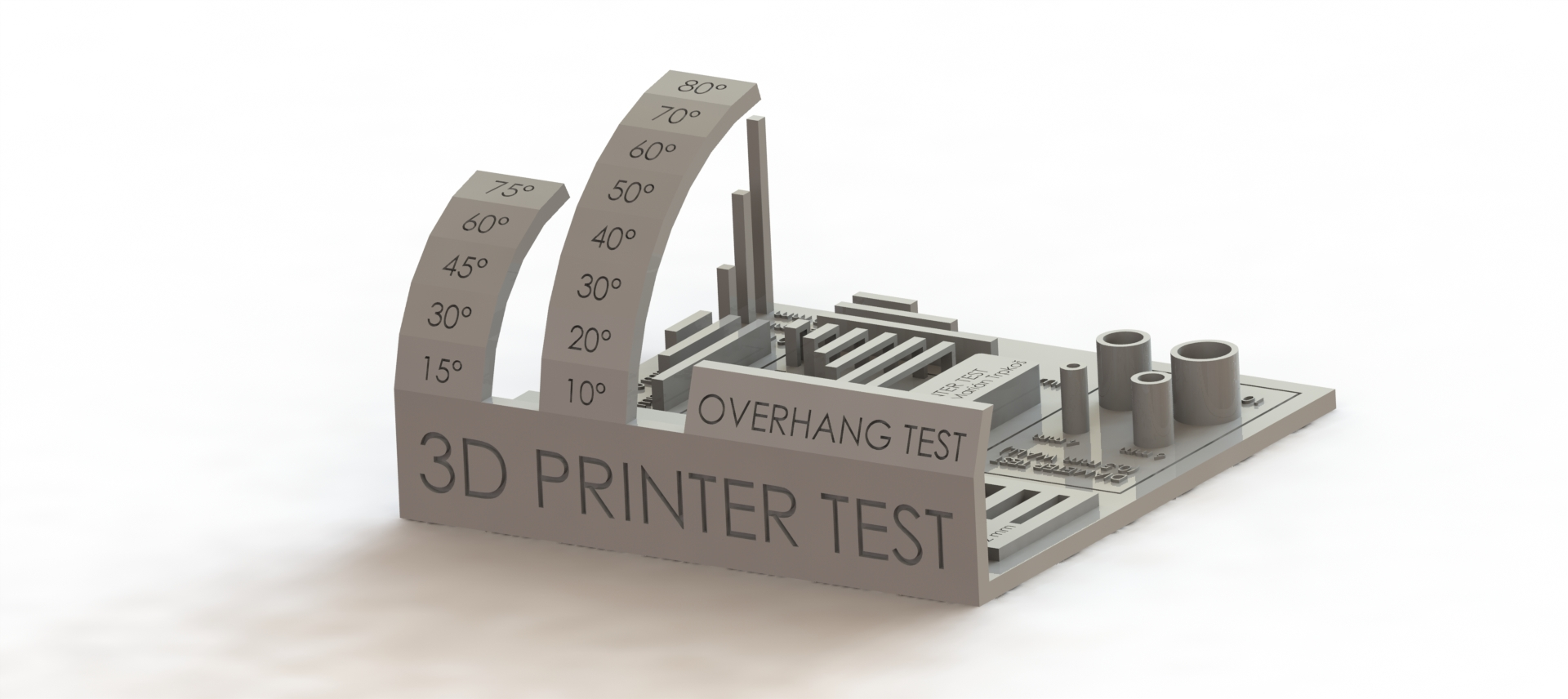 All In One 3D Printer test by majda107 - Thingiverse