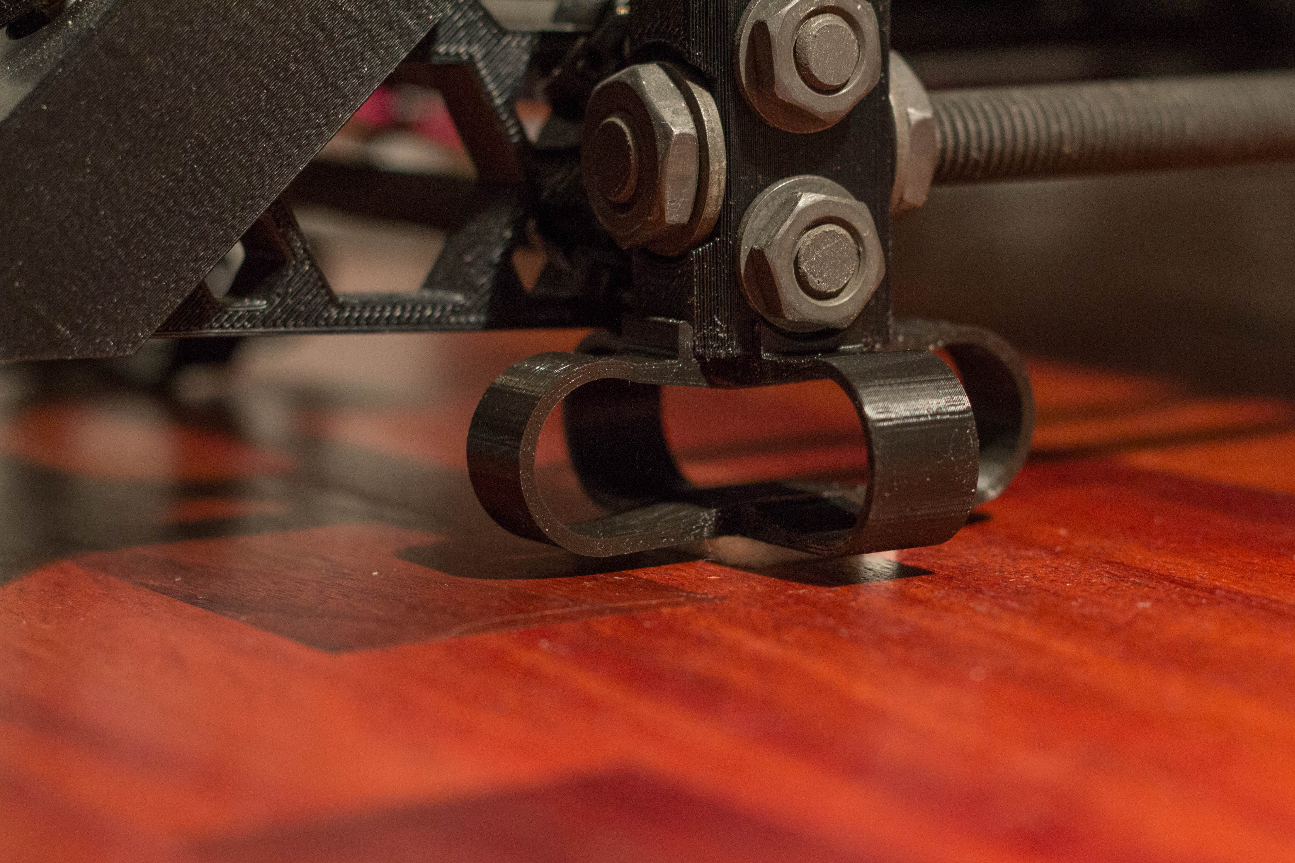 Vibration Damper for Prusa i3 mk2 UPDATE: Thicker and