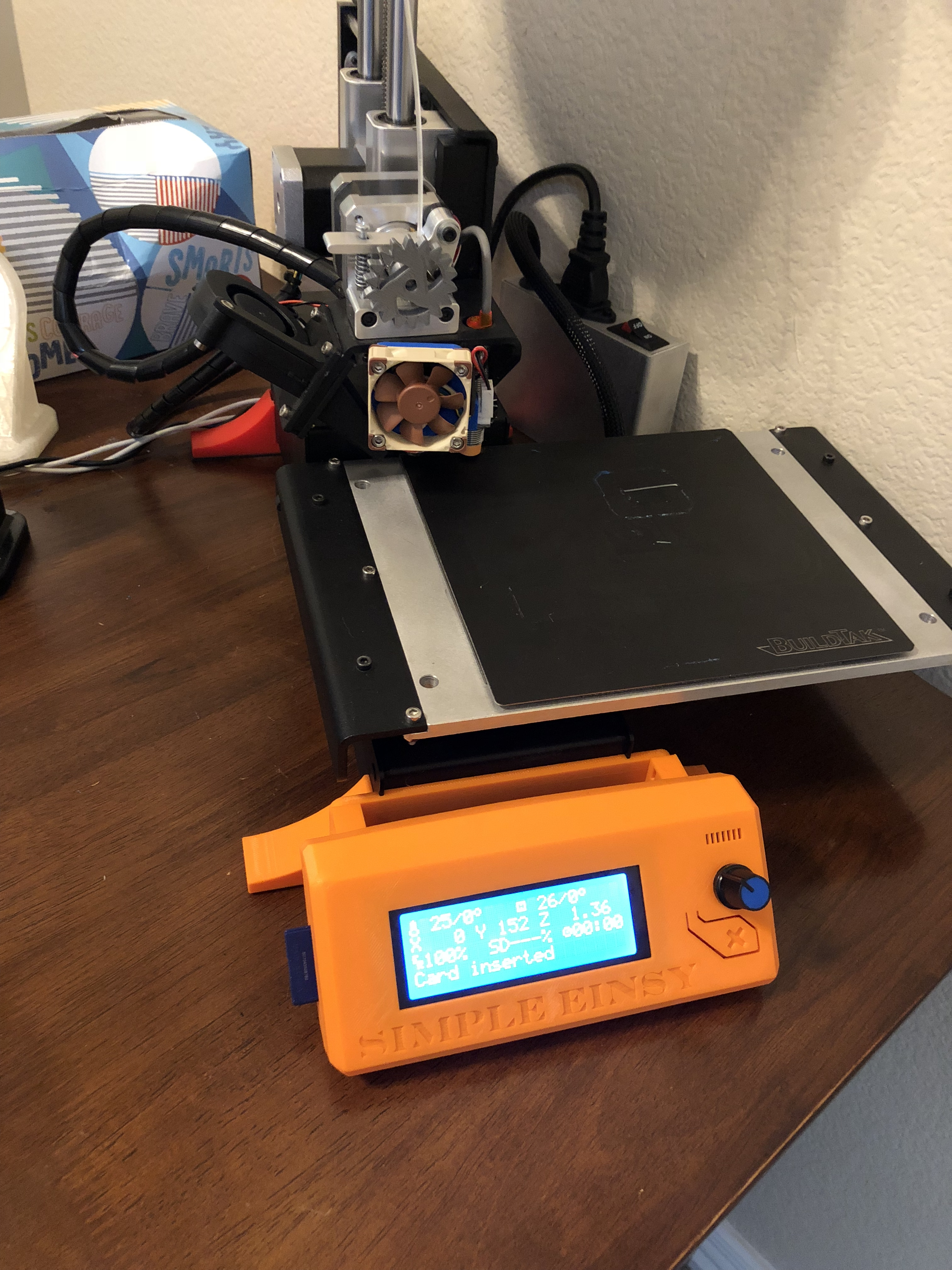 Printrbot simple metal adapter for an einsy rambo board  by
