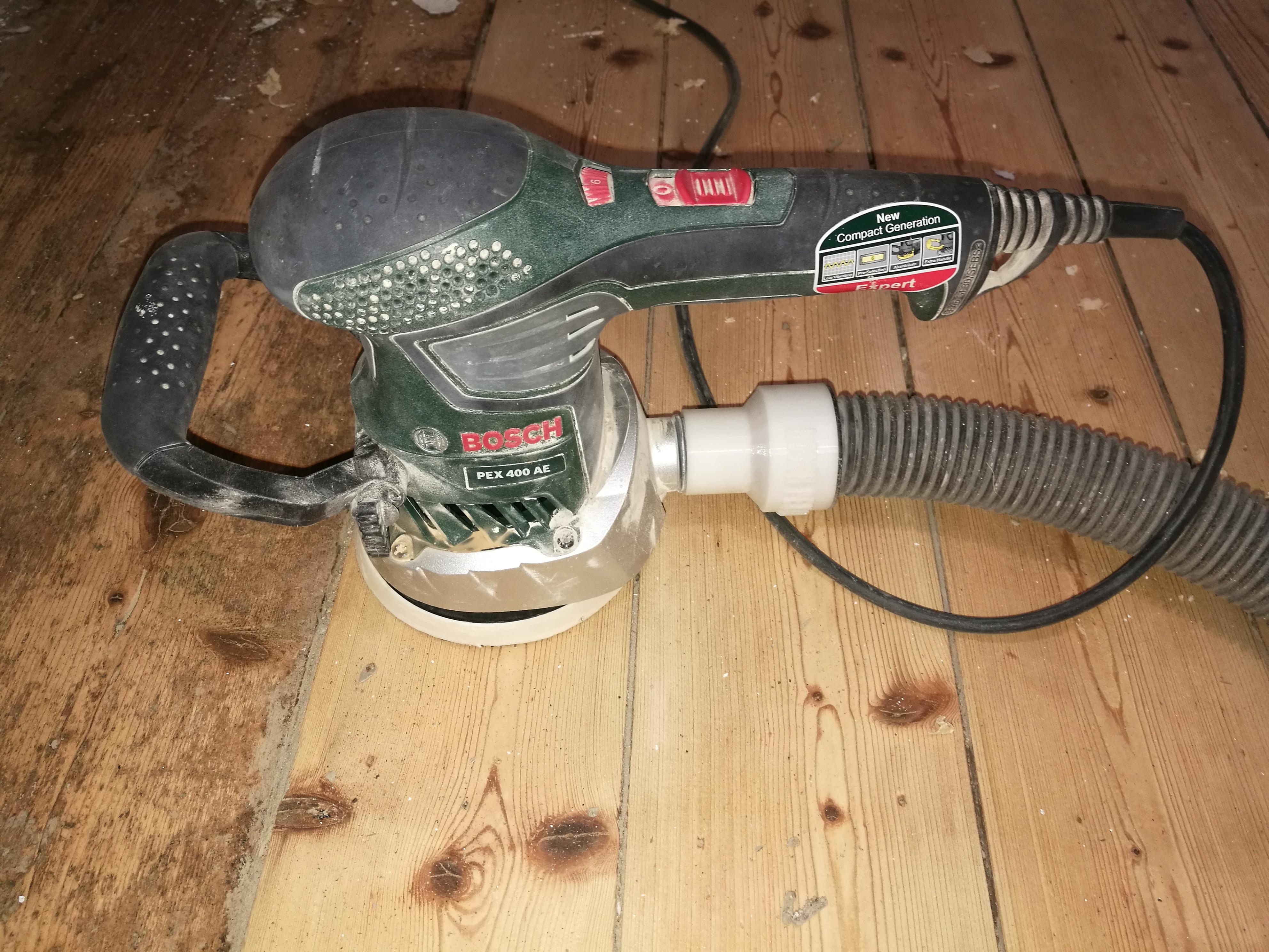 Utroligt Bosch PEX 400 vacuum cleaner adapter V.1 by MannyMark - Thingiverse CS36