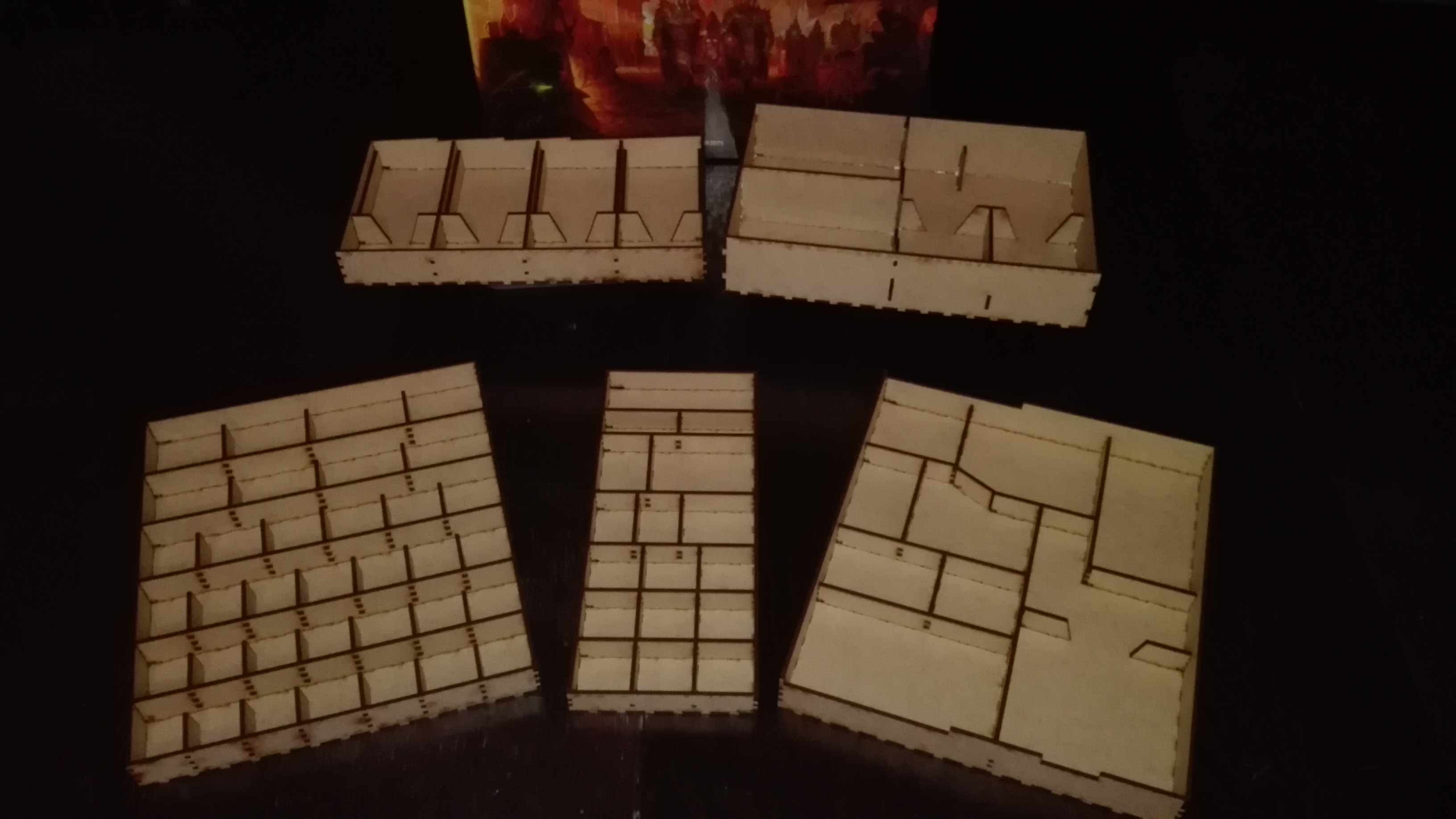 Gloomhaven Insert 3mm Laser Cut by steellynx - Thingiverse