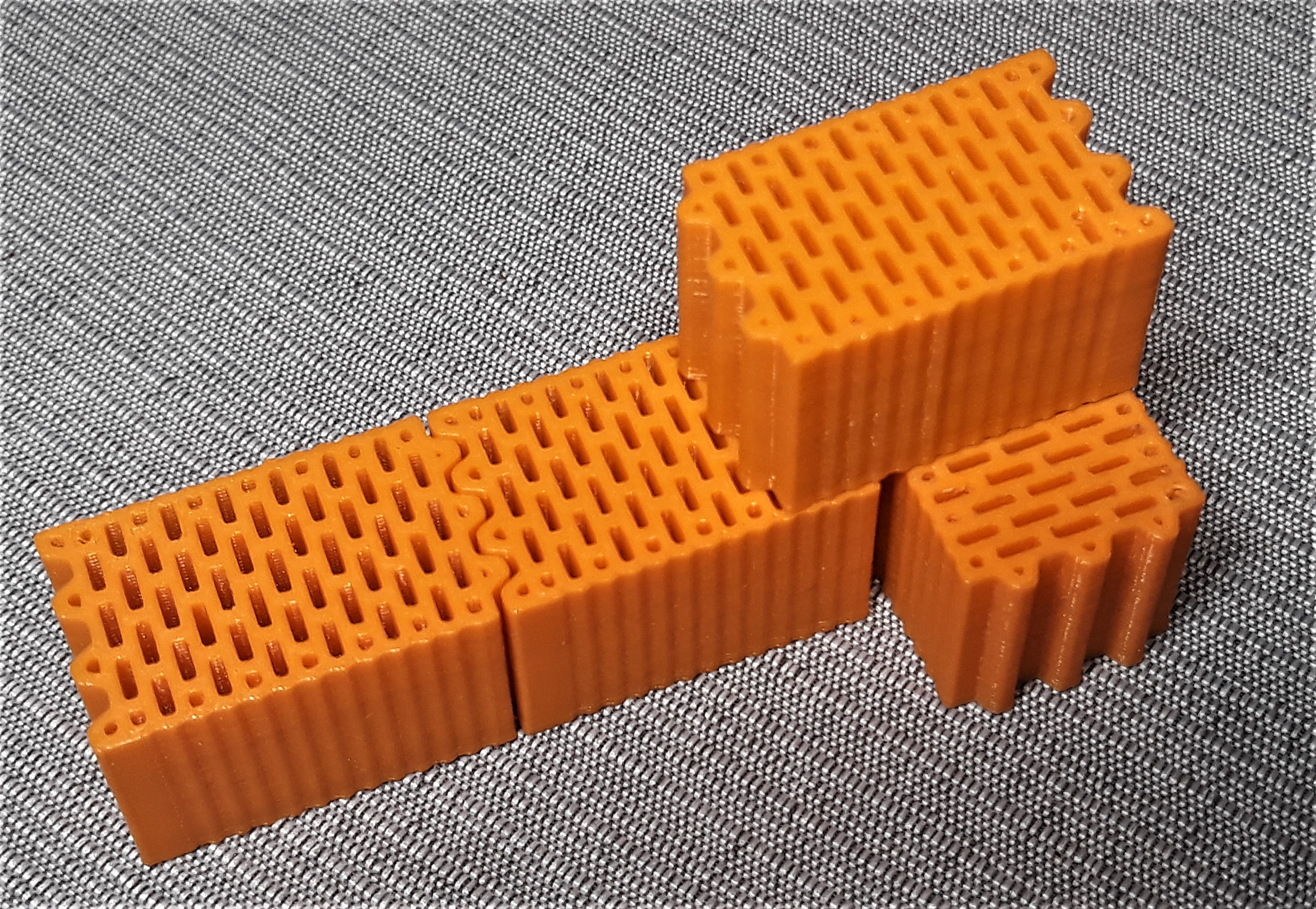 Building Brick Cegla Porotherm 25 By Rom3k2 Thingiverse