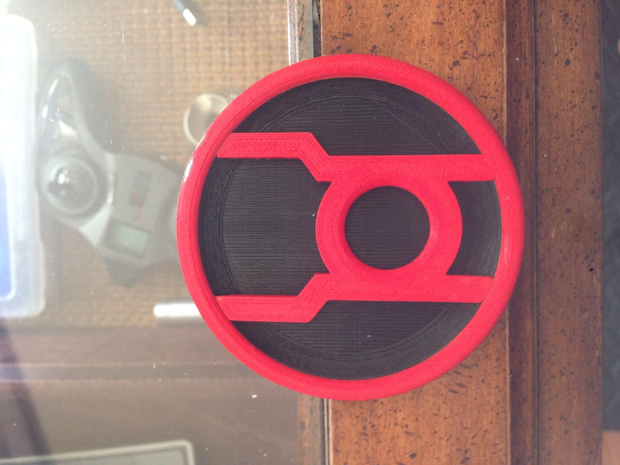 red lantern corps insignia by klutch thingiverse