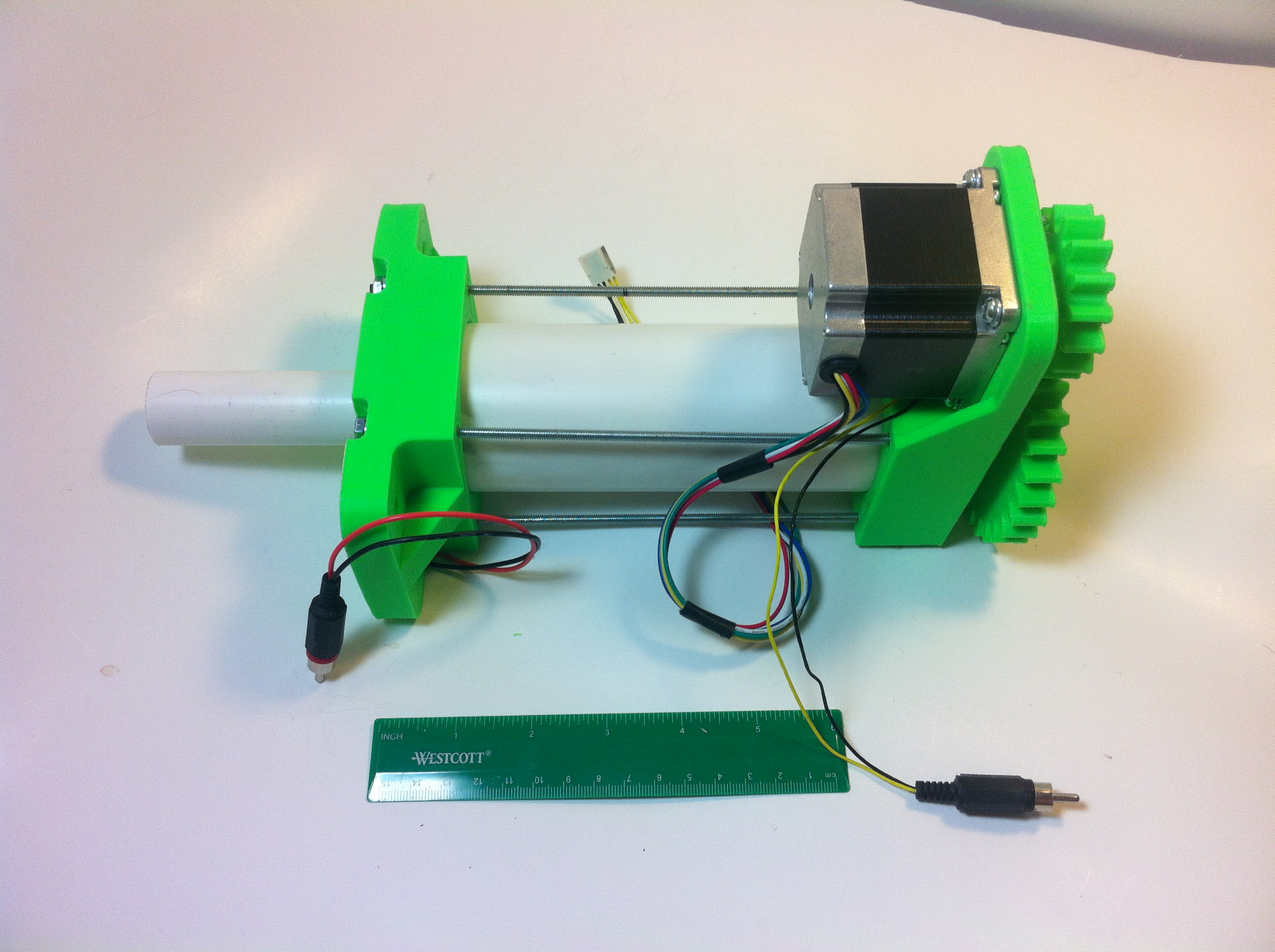 3d Printed High Load Linear Actuator By Mechengineermike Thingiverse Wiring May 3 2015 View Original