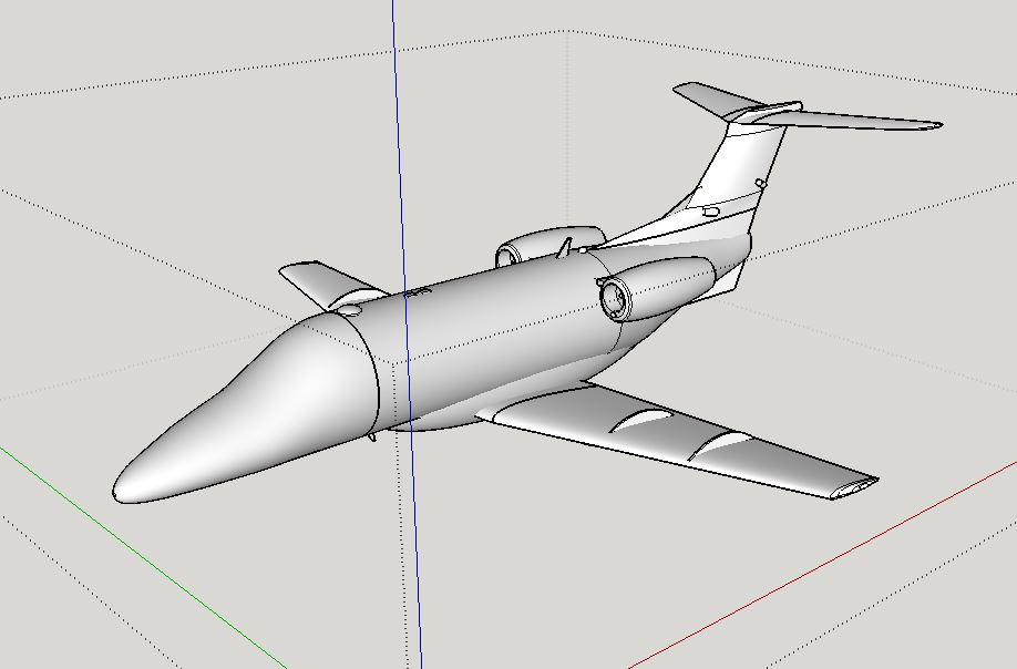 Embraer phenom 100 by navy876 thingiverse the fuselage engines and underside have been rebuilt to a higher resolution the ram air doors actuators for the stabilizers wingtip and beacon lights malvernweather Choice Image