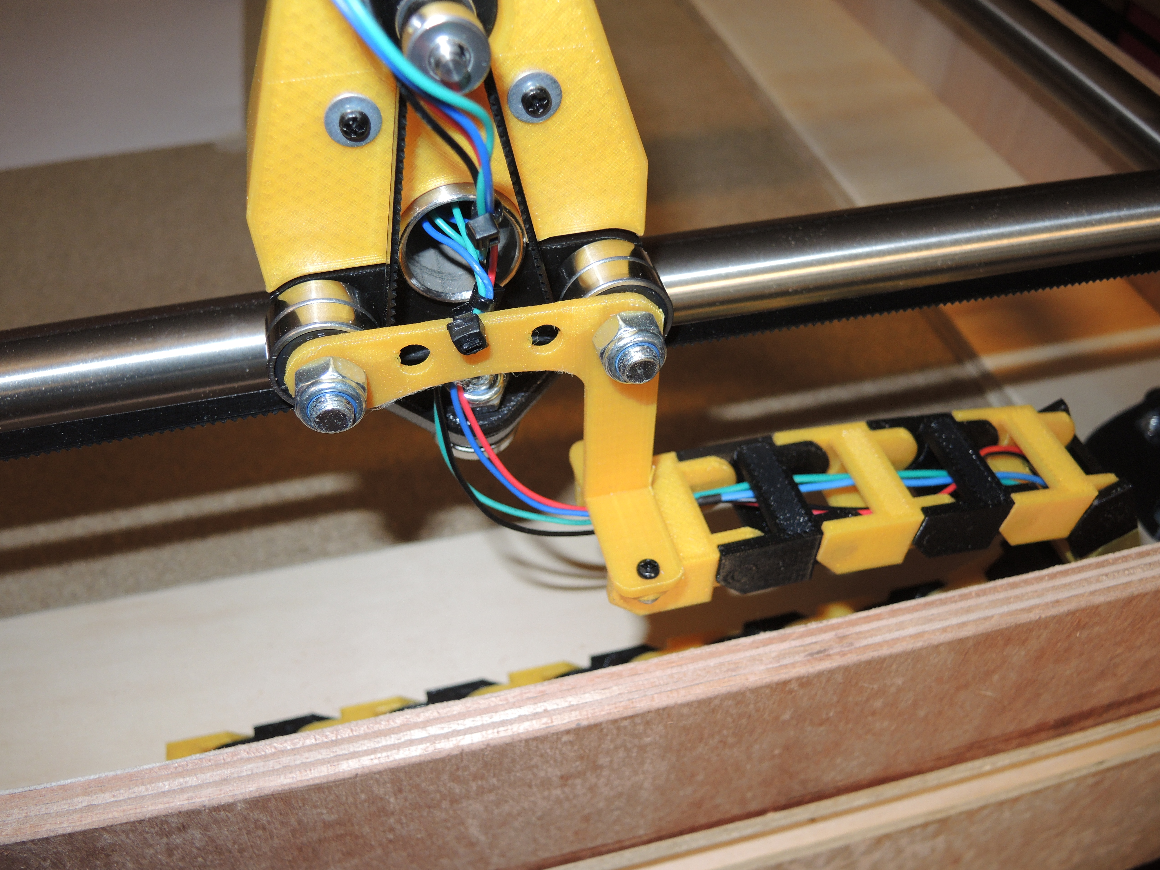 Drag Chain attachments for MPCNC by Ralf - Thingiverse