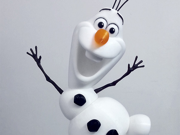 Olaf - I wanna build a snowman! by JamesRX - Thingiverse