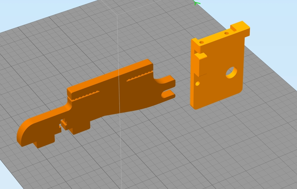 Y-axis extender for Sunhokey Prusa i3 2015