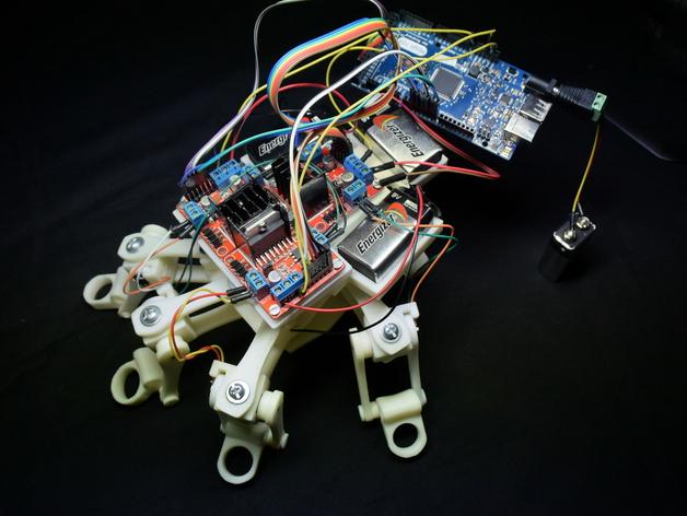 3D Printed Powered Exoskeleton Hands (Upgrade v1)