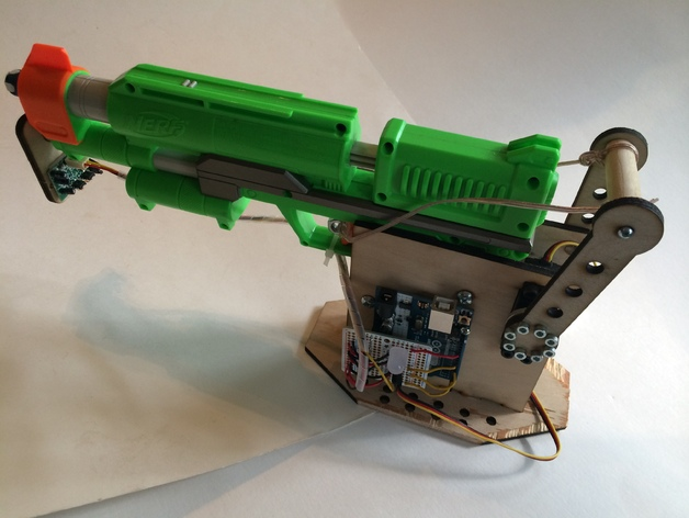 Dart Sentry by jwb, published Jul 20, 2014 - Nerf Blaster