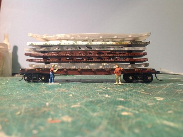 3d Printed Flat Car | Model Railroad Hobbyist magazine