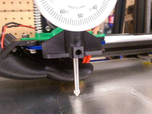 Horbor Freight Dial Indicator At : Mendelmax dial indicator works with extruder in place