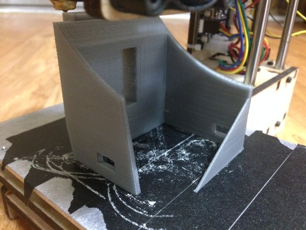 OpenDive 3d VR Goggles for Small Printer (Printrbot Simple)