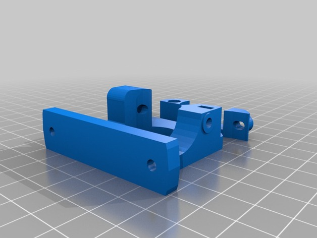 Compact Bowden Extruder MK7 for E3D Bowden Tube Holder