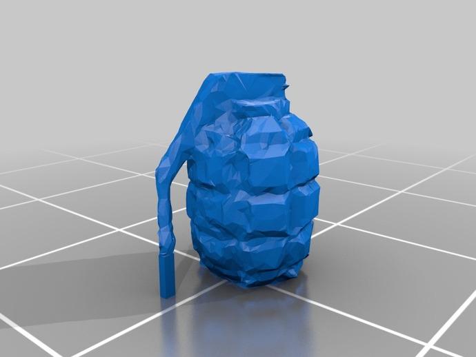 M67 Grenade Paper Craft