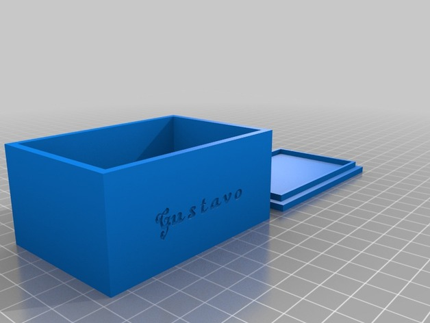 Gustavo box 1 by gustavopd thingiverse for Bat box obi