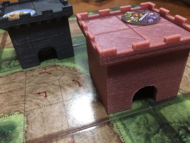 The Kings Armory 3D Printed Tower