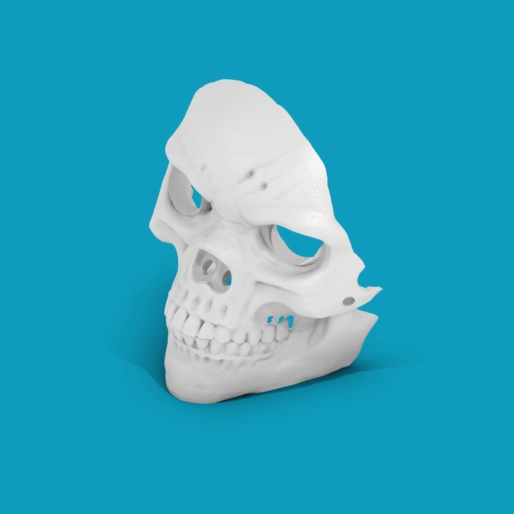 Supportless Skull Mask