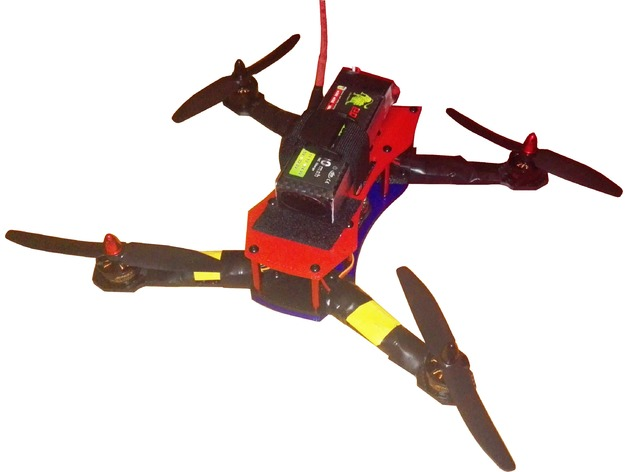 Drone 250 de carreras by javicasas16 - Thingiverse