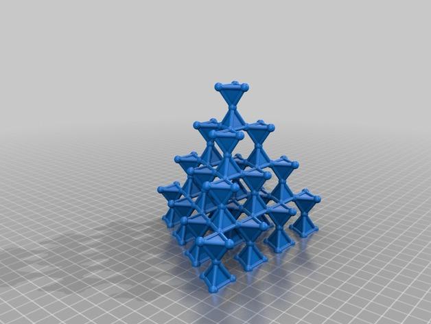 Pyrochlor lattice