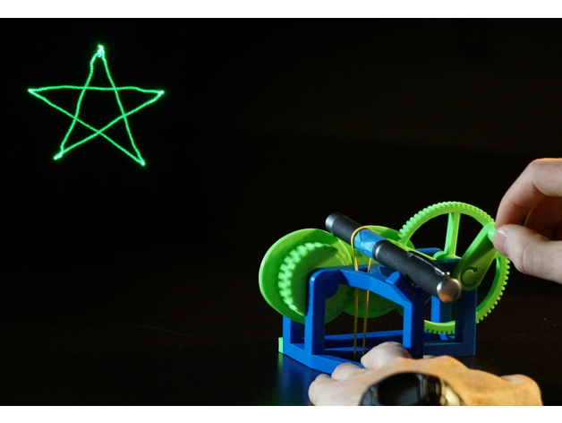 Thingiverse Laser Show