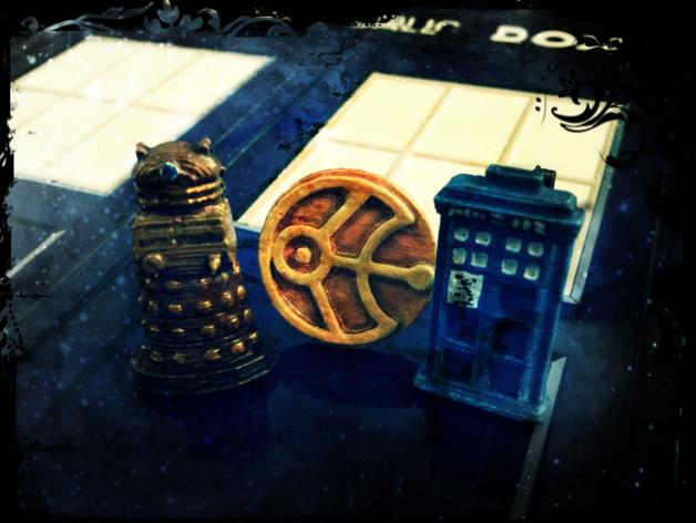 Cufflinks - Doctor Who Edition