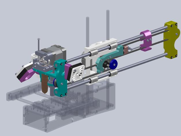 1405 300mm No Sag, Printrbot Simple