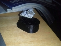 3d printed BlinkM coin cell battery holder
