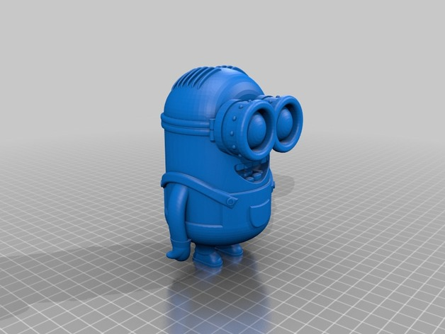 Minion Dave By Poh Thingiverse