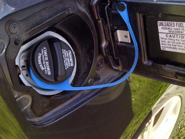 Subaru Gas Cap Lanyard / Tether by Lisa48frog - Thingiverse