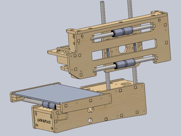 Printrbot Maker 1405 CAD and STL files