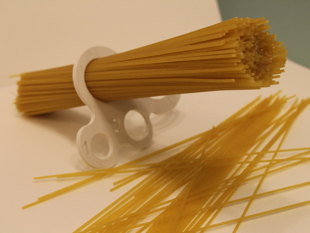 3D Printable Spaghetti Measure Tool