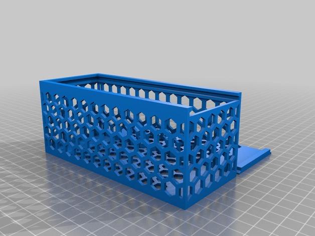 My Customized Parametric Hexagonal Hole Box