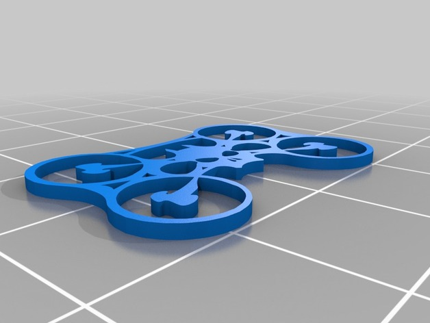 Game of Drone Logo by dgwinner - Thingiverse