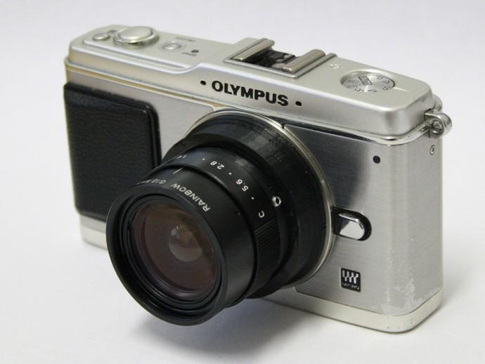 Rainbow G12.5mm f1.4 Lens to MFT Adapter