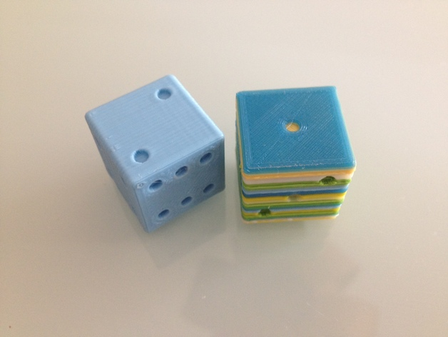 20 mm CALIBRATION DICE CUBE