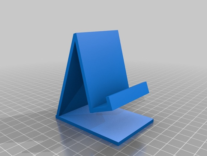 My Customized Mobile Phone Stand v2 by Bmcgeechan ...