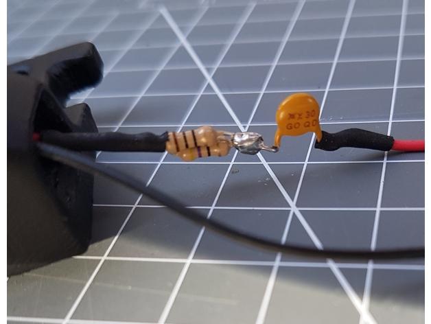 DIY IR LED-holder for TrackIR/Freetrack/opentrack etc