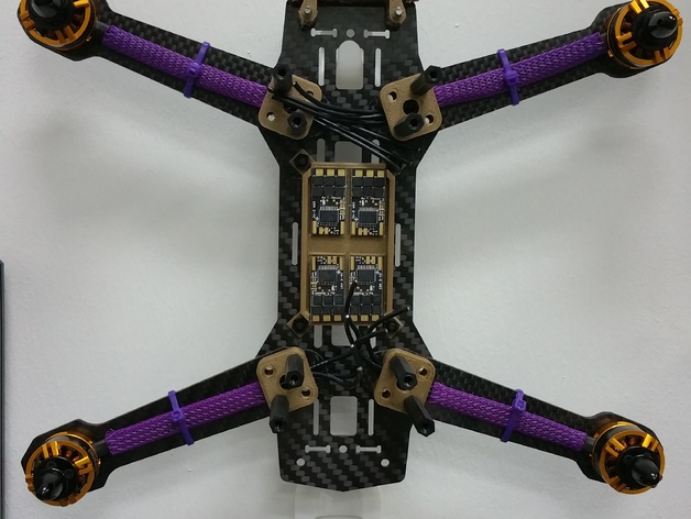 KISS ESC tray and guard for ZMR250 or other quad