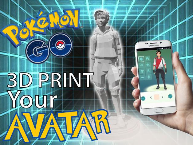 Pokemon GO: Trainer Avatar - Male Idle Pose - Download Free 3D model