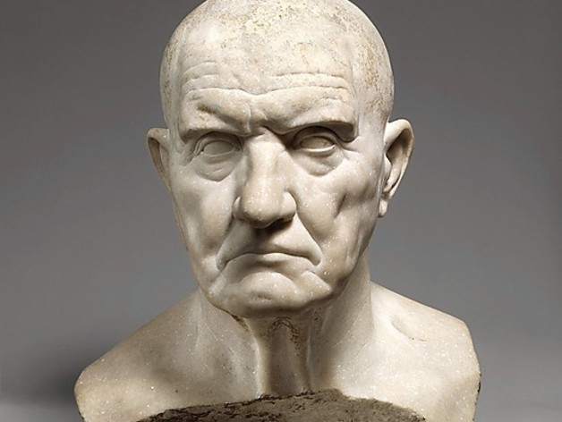 Roman Bust Of A Man By Bdipaolo Thingiverse