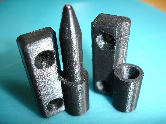 Wanhao D4X hinges