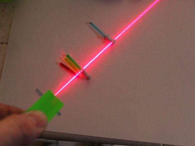 make a line laser using a lego by cdmacy