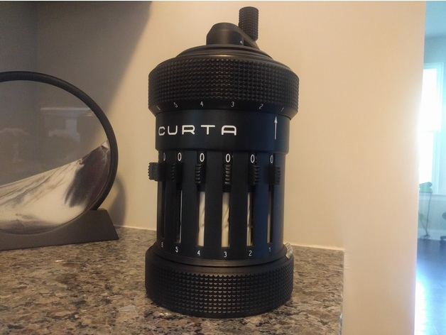 how to make a curta calculator