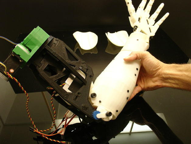 Bicep for Robot InMoov
