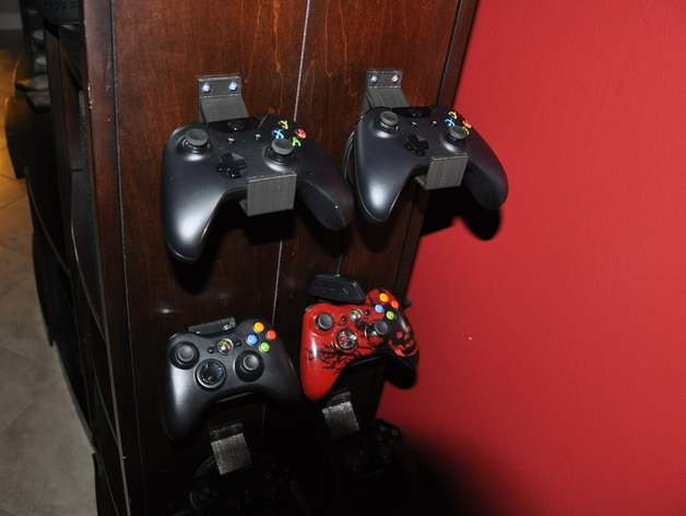 Xbox One Controller Wall Furniture Mount By Rmorales1259