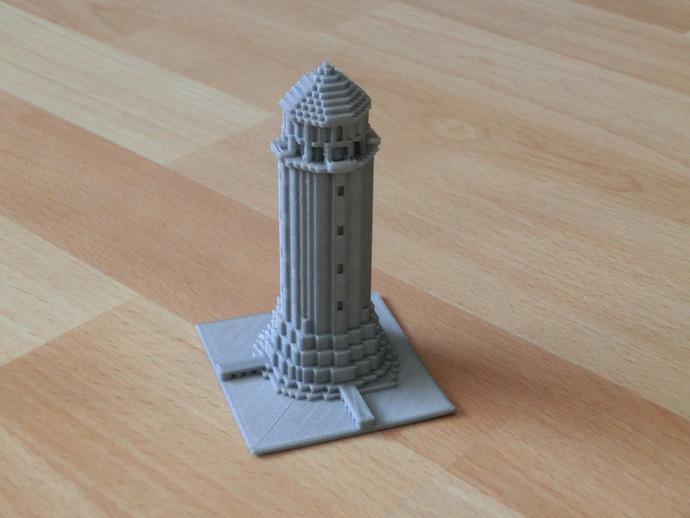 Minecraft Lighthouse By Cfrankenstein