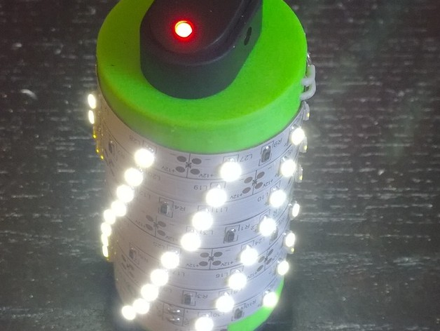 Led package for ikea rotera tea light lantern by tjemsley for Ikea tea light battery